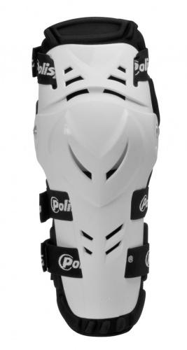 Защита колена для мотокросса Polisport белая